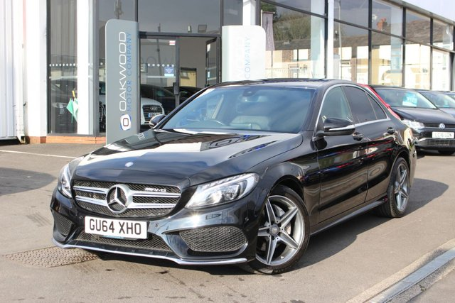USED 2014 MERCEDES-BENZ C CLASS 2.1 C220 CDI BlueTEC AMG Line G-Tronic+ (s/s) 4dr