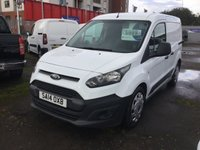 2014 FORD TRANSIT CONNECT 1.6 200 P/V 1d 74 BHP £5499.00