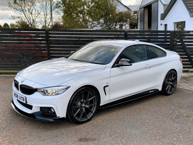 2016 16 BMW 4 SERIES 2.0 420D M SPORT PLUS COUPE