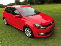 USED 2012 62 VOLKSWAGEN POLO 1.2 MATCH 5d 59 BHP **EXCELLENT FINANCE PACKAGES**SERVICE HISTORY**LOW MILES**LOW RUNNING COSTS**