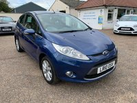 USED 2010 10 FORD FIESTA 1.2 ZETEC 3d 81 BHP ONE YEAR WARRANTY INCLUDED / LOW MILEAGE / VOICE COMMS / USB / BLUETOOTH