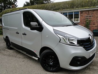 2016 RENAULT TRAFIC SL29 DCI 145 PVSsportline Sport Energy *TWIN SIDE LOADING DOORS*  £12695.00