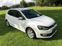 USED 2013 13 VOLKSWAGEN POLO 1.2 MATCH 5d 59 BHP **EXCELLENT FINANCE PACKAGES**SERVICE RECORD**LOW GENUINE MILES**
