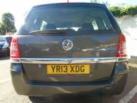 USED 2013 13 VAUXHALL ZAFIRA 1.6 EXCLUSIV 5d 113 BHP GUARANTEED TO BEAT ANY 'WE BUY ANY CAR' VALUATION ON YOUR PART EXCHANGE