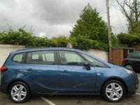 USED 2013 13 VAUXHALL ZAFIRA TOURER 1.4 EXCLUSIV S/S 5d 138 BHP GUARANTEED TO BEAT ANY 'WE BUY ANY CAR' VALUATION ON YOUR PART EXCHANGE