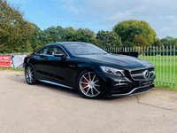 2015 MERCEDES-BENZ S CLASS 5.5 S63 AMG 2d AUTO 577 BHP £55000.00