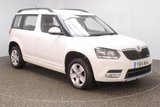 USED 2014 14 SKODA YETI 1.6 S GREENLINE II TDI CR 5DR 1 OWNER 103 BHP FULL SERVICE HISTORY + £30 12 MONTHS ROAD TAX + BLUETOOTH + MULTI FUNCTION WHEEL + AIR CONDITIONING + RADIO/CD + ELECTRIC WINDOWS + ELECTRIC MIRRORS + 16 INCH ALLOY WHEELS