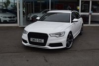 USED 2013 63 AUDI A6 2.0 AVANT TDI BLACK EDITION 5d AUTO 175 BHP FINANCE TODAY WITH NO DEPOSIT