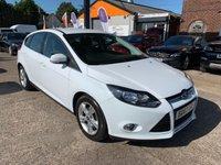 2014 FORD FOCUS 1.6 ZETEC 5d AUTO 124 BHP £6990.00