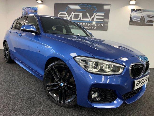 2016 16 BMW 1 SERIES 2.0 118D M SPORT 5d 147 BHP