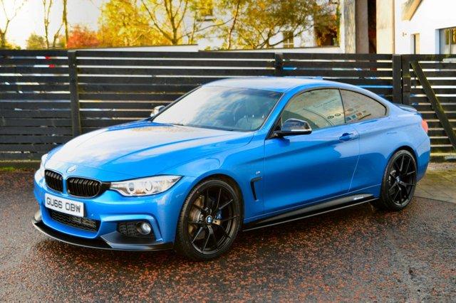 2016 66 BMW 4 SERIES 2.0 420D M SPORT PLUS COUPE