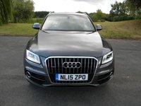 USED 2015 15 AUDI Q5 3.0 TDI QUATTRO S LINE 5d AUTO 242 BHP Full Leather Heated Seats, Alloy Wheels, Rear Parking Sensors, DAB Radio