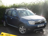 USED 2013 13 DACIA DUSTER 1.5 LAUREATE DCI 4WD 5d * ONE OWNER FROM NEW * FOUR WHEEL DRIVE *