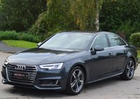 USED 2016 16 AUDI A4 3.0 TDI QUATTRO S LINE 4d AUTO 215 BHP ***TECHNOLOGY PACK*** ***VIRTUAL COCKPIT***