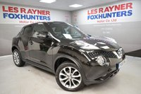 USED 2016 A NISSAN JUKE 1.5 TEKNA DCI 5d 110 BHP Sat Nav, Bluetooth, Cheap Tax, Full Leather