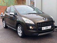 USED 2010 10 PEUGEOT 3008 1.6 EXCLUSIVE 5d 120 BHP FINANCE ME TODAY...