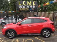 USED 2019 19 HONDA HR-V 1.6 I-DTEC EX 5d 118 BHP STUNNING HONDA RED PAINT WORK, BLACK LEATHER HEATED SEATS, AIR CON, POLISHED ALLOY WHEELS, PARKING SENSORS, CRUISE CONTROL, PRIVACY GLASS, DAB RADIO, TOP OF THE RANGE, VERY LOW MILEAGE