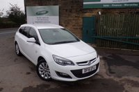 USED 2015 15 VAUXHALL ASTRA 2.0 ELITE CDTI S/S 5d 163 BHP One Former Owner FULL Service History