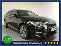 USED 2018 67 KIA OPTIMA 1.7 CRDI 3 ISG 5d AUTO 139 BHP FULL SERVICE HISTORY - 1 OWNER - SAT NAV - HALF LEATHER - CRUISE - REAR CAMERA - PARKING SENSORS