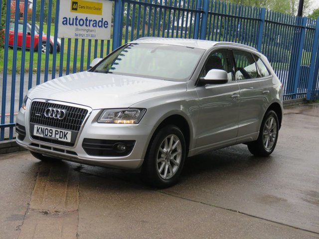 USED 2009 09 AUDI Q5 2.0 TDI QUATTRO SE Sat nav Leather Cruise Heated seats Finance arranged Part exchange available Open 7 days