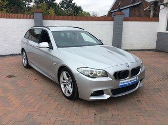 2011 BMW 5 SERIES 3.0 525D M SPORT TOURING 5d 202 BHP