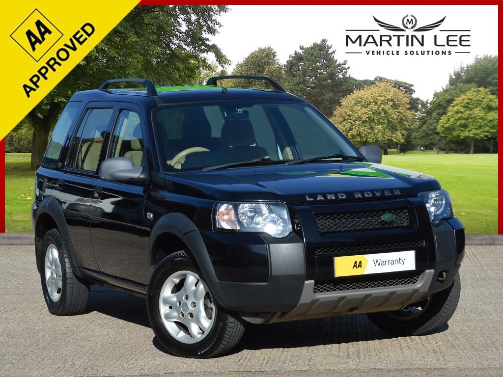 USED 2007 07 LAND ROVER FREELANDER 2.0 TD4 SE STATION WAGON 5d AUTO 110 BHP DIESEL 4X4 AUTOMATIC FULL ELECTRIC PACK+MEDIA