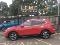 USED 2017 67 NISSAN X-TRAIL 1.6 DCI N-CONNECTA 5d 130 BHP STUNNING CHERRY RED METALLIC WITH DARK GREY LUXURY CLOTH UPHOLSTERY. ONLY ONE OWNER FROM NEW. FULL GLASS PANORAMIC SUNROOF. SATELLITE NAVIGATION. SEVEN SEATER. CLIMATE CONTROL. ALLOY WHEELS. USB/AUX CONNECTION. ELECTRIC WINDOWS. REMOTE CENTRAL LOCKING. PLEASE GOTO www.lowcostmotorcompany.co.uk TO VIEW OVER 120 CARS IN STOCK