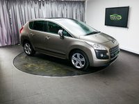 USED 2012 12 PEUGEOT 3008 1.6 ALLURE E-HDI FAP 5d AUTO 112 BHP £0 DEPOSIT FINANCE AVAILABLE, AIR CONDITIONING, AUX INPUT, BLUETOOTH CONNECTIVITY, CLIMATE CONTROL, CRUISE CONTROL, ELECTRONIC PARKING BRAKE, HEADS UP DISPLAY, REAR PARKING SENSORS, STEERING WHEEL CONTROLS, TRIP COMPUTER