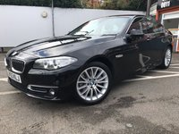 USED 2014 63 BMW 5 SERIES 2.0 520D LUXURY 4d AUTO 181 BHP