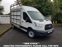 USED 2016 16 FORD TRANSIT 350  2.0 130 BHP L3 H2 GLASS RACK *OVER 90 VANS IN STOCK*