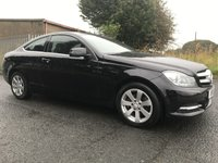 2013 MERCEDES-BENZ C CLASS 2.1 C220 CDI BLUEEFFICIENCY EXECUTIVE SE satnav black/black leather  £8595.00