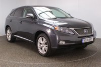 USED 2011 11 LEXUS RX 3.5 450H SE-I 5DR AUTO SAT NAV PAN ROOF HEATED LEATHER SEATS 249 BHP FULL SERVICE HISTORY + HEATED LEATHER SEATS + SATELLITE NAVIGATION + PANORAMIC ROOF + REVERSE CAMERA + PARKING SENSOR + BLUETOOTH + CRUISE CONTROL + CLIMATE CONTROL + MULTI FUNCTION WHEEL + PRIVACY GLASS + XENON HEADLIGHTS + ELECTRIC/MEMORY SEATS + DAB RADIO + RADIO/CD/AUX/USB + ELECTRIC WINDOWS + ELECTRIC MIRRORS + 19 INCH ALLOY WHEELS