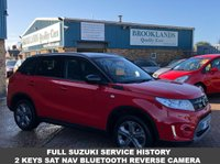 USED 2017 66 SUZUKI VITARA 1.6 SZ-T 5d 118 BHP 16,000Miles F.S.H Daytime Running Lights Alloy Wheels  Only Done 16,000 Miles Part Welcome Open 7 days a week 01536 402161