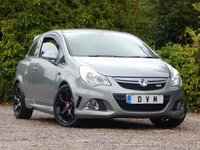 USED 2011 61 VAUXHALL CORSA 1.6 VXR 3d 189 BHP LOW MILEAGE, FINANCE AVAILABLE