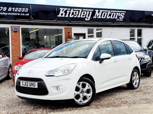 2012 12 CITROEN C3 1.4 WHITE SPECIAL EDITION