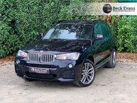 USED 2016 66 BMW X3 3.0 XDRIVE35D M SPORT 5d 309 BHP