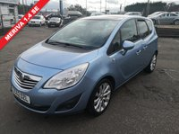 USED 2013 62 VAUXHALL MERIVA 1.4 SE 5d 99 BHP NO DEPOSIT AVAILABLE, DRIVE AWAY TODAY!!
