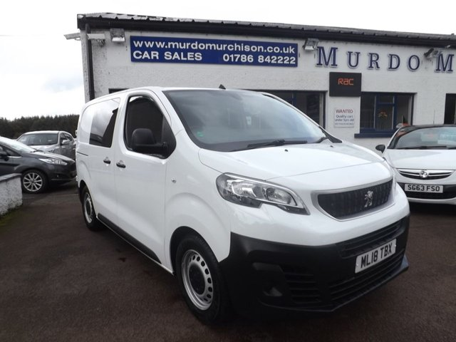 USED 2018 18 PEUGEOT EXPERT 1.6 BLUE HDI PROFESSIONAL COMPACT 1d 95 BHP