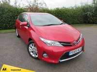 USED 2015 65 TOYOTA AURIS 1.6 ICON VALVEMATIC 5d * BLUETOOTH * 12 MONTHS AA MEMBERSHIP *