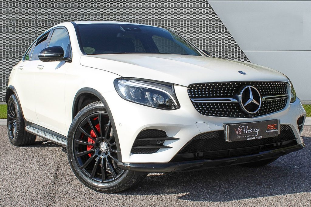 "USED 2016 66 MERCEDES-BENZ GLC-CLASS 2.1 GLC 250 D 4MATIC AMG LINE PREMIUM PLUS 4d AUTO 201 BHP *PAN ROOF/NIGHT PACK/20""ALLOYS*"