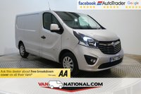 USED 2015 65 VAUXHALL VIVARO 1.6 2700 L1H1 CDTI P/V SPORTIVE 115 BHP (AIR CON BLUETOOTH) 12 MONTH EXTENDED WARRANTIES AVAILABLE FROM JUST £199