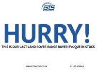 USED 2012 61 LAND ROVER RANGE ROVER EVOQUE 2.2 SD4 PURE FIVE DOOR AUTO 190 BHP LEATHER
