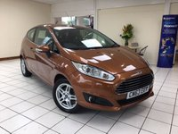 USED 2013 63 FORD FIESTA 1.2 ZETEC 3d 81 BHP 1.2 PETROL ENGINE / £30.00 ANNUAL ROAD TAX / PHONE CONNECTIVITY