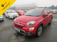 2015 FIAT 500X 1.6 MULTIJET CROSS PLUS 5d 120 BHP £8195.00