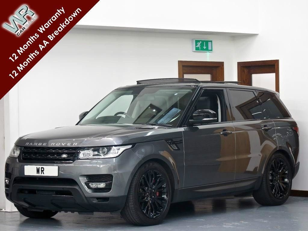 USED 2014 14 LAND ROVER RANGE ROVER SPORT 3.0 SD V6 HSE Dynamic 4X4 (s/s) 5dr PAN ROOF + STEALTH PACK