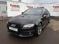 2012 AUDI A4 2.0 TDI Black Edition 4dr £10990.00
