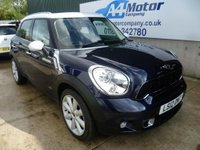 USED 2012 12 MINI COUNTRYMAN 2.0 Cooper SD ALL4 5dr AUTOMATIC, 4 - WHEEL DRIVE