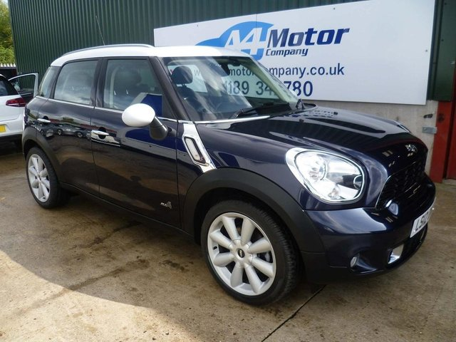 2012 12 MINI COUNTRYMAN 2.0 Cooper SD ALL4 5dr