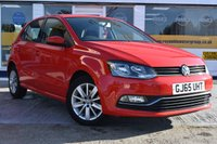 USED 2015 65 VOLKSWAGEN POLO 1.2 SE TSI 5d 89 BHP NO DEPOSIT FINANCE AVAILABLE