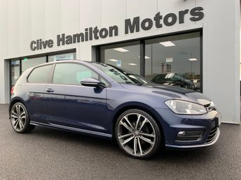 2017 VOLKSWAGEN GOLF 2.0 R LINE EDITION TDI BLUEMOTION TECHNOLOGY 3d 150 BHP £15500.00